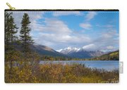Fall Mountain Landscape Of Lapie Lake Yukon Canada Carry-all Pouch