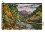 Fall New River Scene Carry-all Pouch