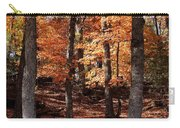 Fall On A Stump Carry-all Pouch