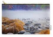 Fall On The Merced Carry-all Pouch by Bill Gallagher