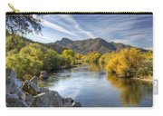 Fall On The Salt River  Carry-all Pouch