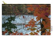 Fall On The Shetucket Carry-all Pouch