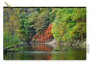 Fall Painting Carry-all Pouch by Frozen in Time Fine Art Photography
