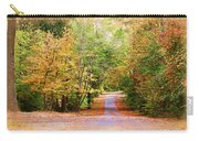 Fall Pathway Carry-all Pouch by Judy Vincent