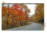 Fall Peak Along Slick Fisher Road Carry-all Pouch