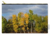 Fall Pond Reflection Carry-all Pouch
