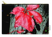 Fall Red Leaf Carry-all Pouch