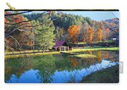 Fall Reflections At The Farm  Carry-all Pouch