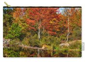 Fall Reflections In Maine Img 6312 Carry-all Pouch