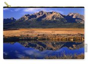 Fall Reflections Sawtooth Mountains Idaho Carry-all Pouch