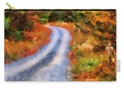 Fall Road To Paradise Carry-all Pouch