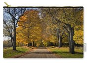 Fall Rural Country Gravel Road Carry-all Pouch