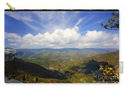 Fall Scene From North Fork Mountain Carry-all Pouch