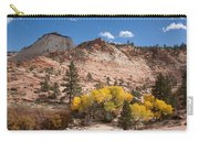 Fall Season At Zion National Park Carry-all Pouch