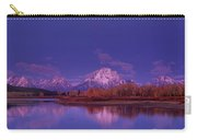 Fall Sunrise Grand Tetons National Park Wyoming Carry-all Pouch
