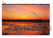 Fall Sunset In The Mead Wildlife Area Carry-all Pouch