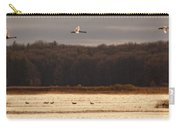 Fall Swans Carry-all Pouch
