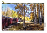 Fall Train Ride New Mexico Carry-all Pouch