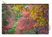 Fall Tree Leaves Carry-all Pouch
