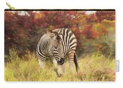 Fall Zebra Carry-all Pouch