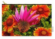 Fallen Coneflower Carry-all Pouch