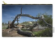 Fallen Dead Torrey Pine Trunk At Torrey Pines State Natural Reserve Carry-all Pouch