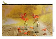 Fallen Leaves Carry-all Pouch by Veikko Suikkanen