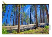 Fallen Sequoia In Mariposa Grove In Yosemite National Park-california Carry-all Pouch