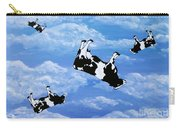 Falling Cows Carry-all Pouch