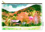 Falling Farm Blended Art Styles Carry-all Pouch