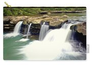 Falling Waters Falls 4 Carry-all Pouch by Marty Koch