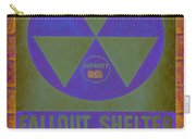 Fallout Shelter Abstract Carry-all Pouch