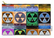 Fallout Shelter Mosaic Carry-all Pouch
