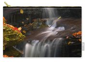 Falls And Fall Leaves Carry-all Pouch
