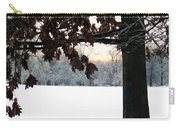 Falls Colors At First Snowfall Carry-all Pouch