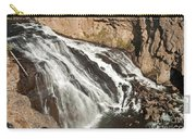 Falls On The Gibbon River In Yellowstone National Park Carry-all Pouch