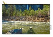 Falls On The Merced Carry-all Pouch