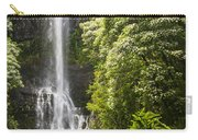 Falls On The Road To Hana Carry-all Pouch