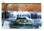 Falls Panorama-features In Groups Rivers Streams And Waterfalls-visions Of The Night Carry-all Pouch