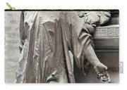 Famiglia Cavaliere Del Francesco Canti Memorial Marker Detail I  Carry-all Pouch