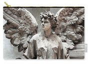 Famiglia Cavaliere Del Francesco Canti Memorial Marker Detail IIi Monumental Cemetery Carry-all Pouch