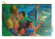 Family Bonding In Bicol Carry-all Pouch