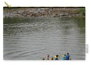 Family Canoeing At Lower Tahquamenon Falls Carry-all Pouch