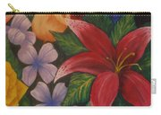 Family Flowers Carry-all Pouch