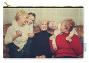 Family Carry-all Pouch by Laurie Search