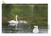 Family Of Swans Carry-all Pouch