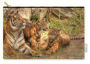 Tiger Family Carry-all Pouch