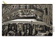 Famous Cafe De Flore - Paris Carry-all Pouch by Carlos Alkmin