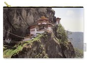 Famous Tigers Nest Monastery Of Bhutan 12 Carry-all Pouch