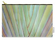 Fan Palm Abstract 2 Carry-all Pouch